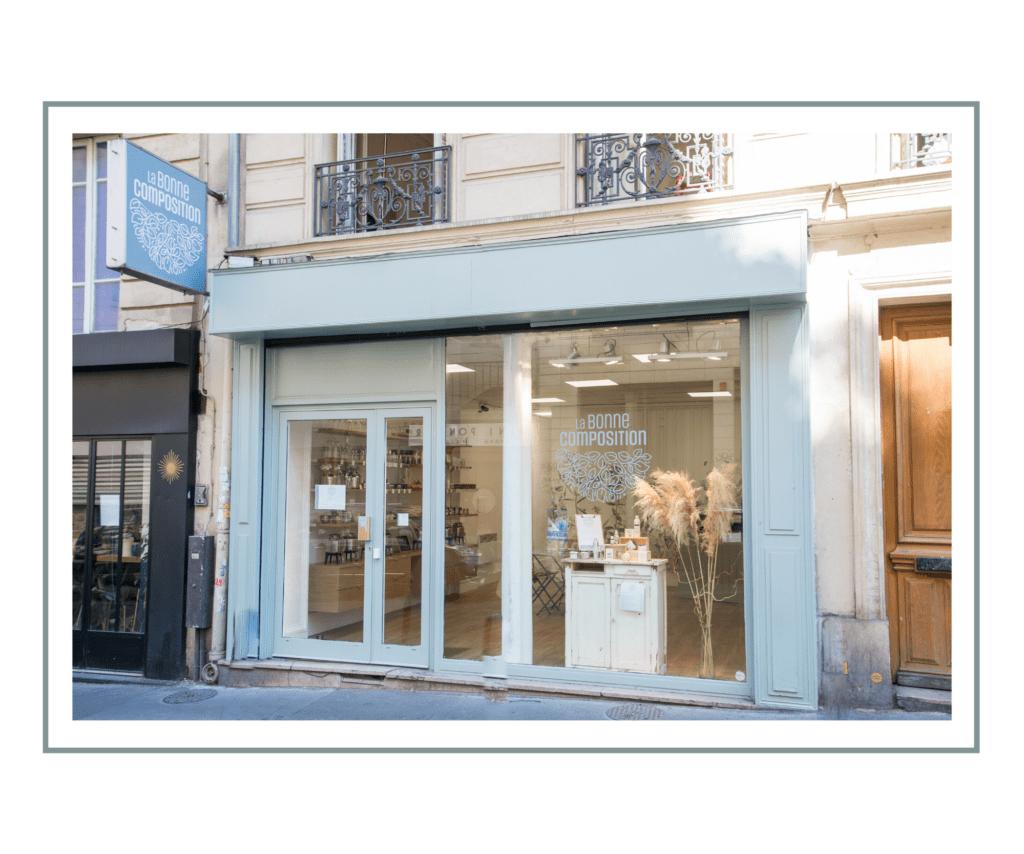 la boutique La Bonne Composition