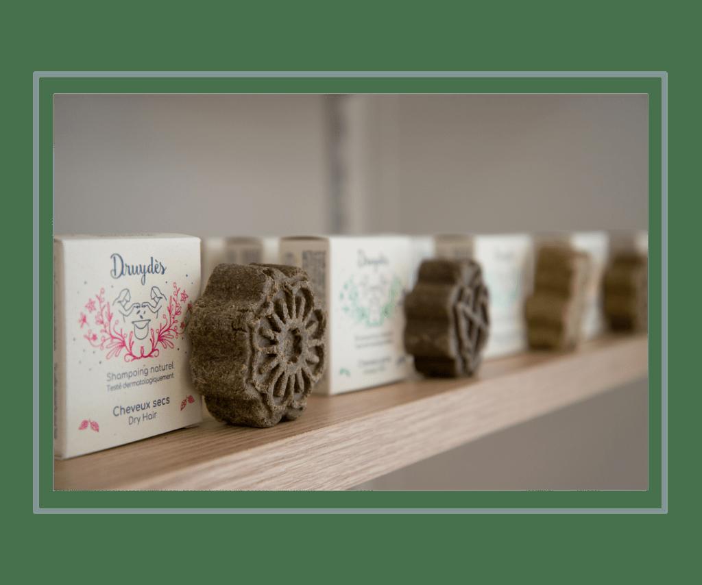 Les shampoing solides Druydes à Paris