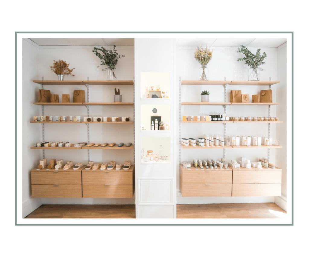 Boutique cosmétiques naturels Paris