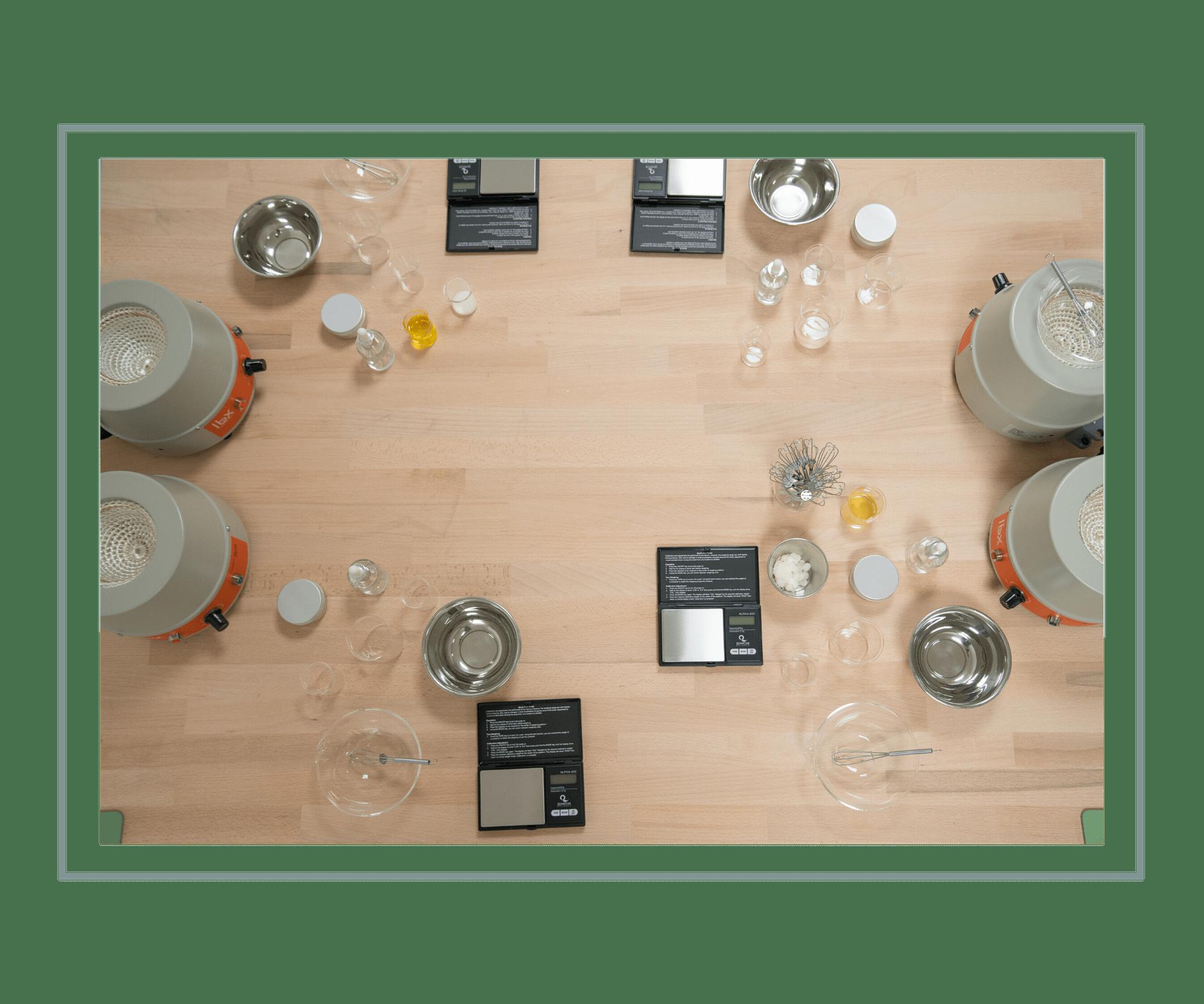 Atelier crème mains Paris