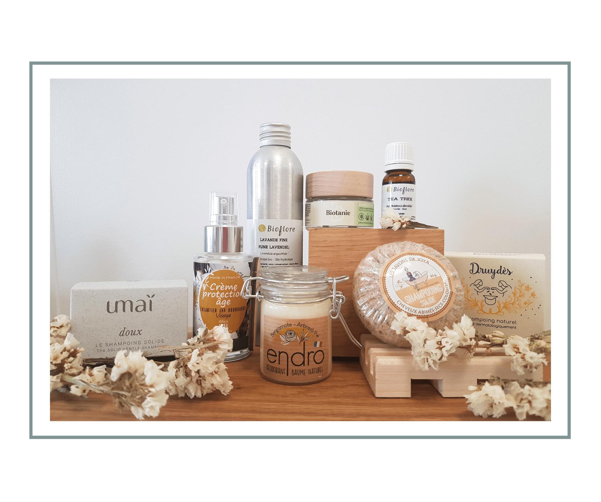 Les alternatives aux emballages plastiques en cosmétique