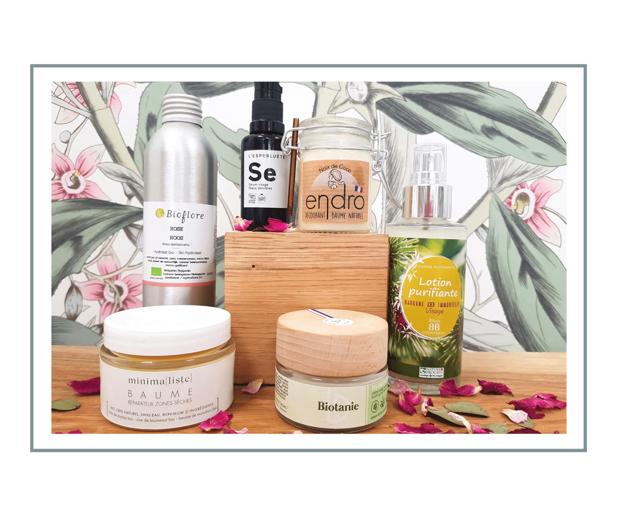 L'eau dans les cosmétiques