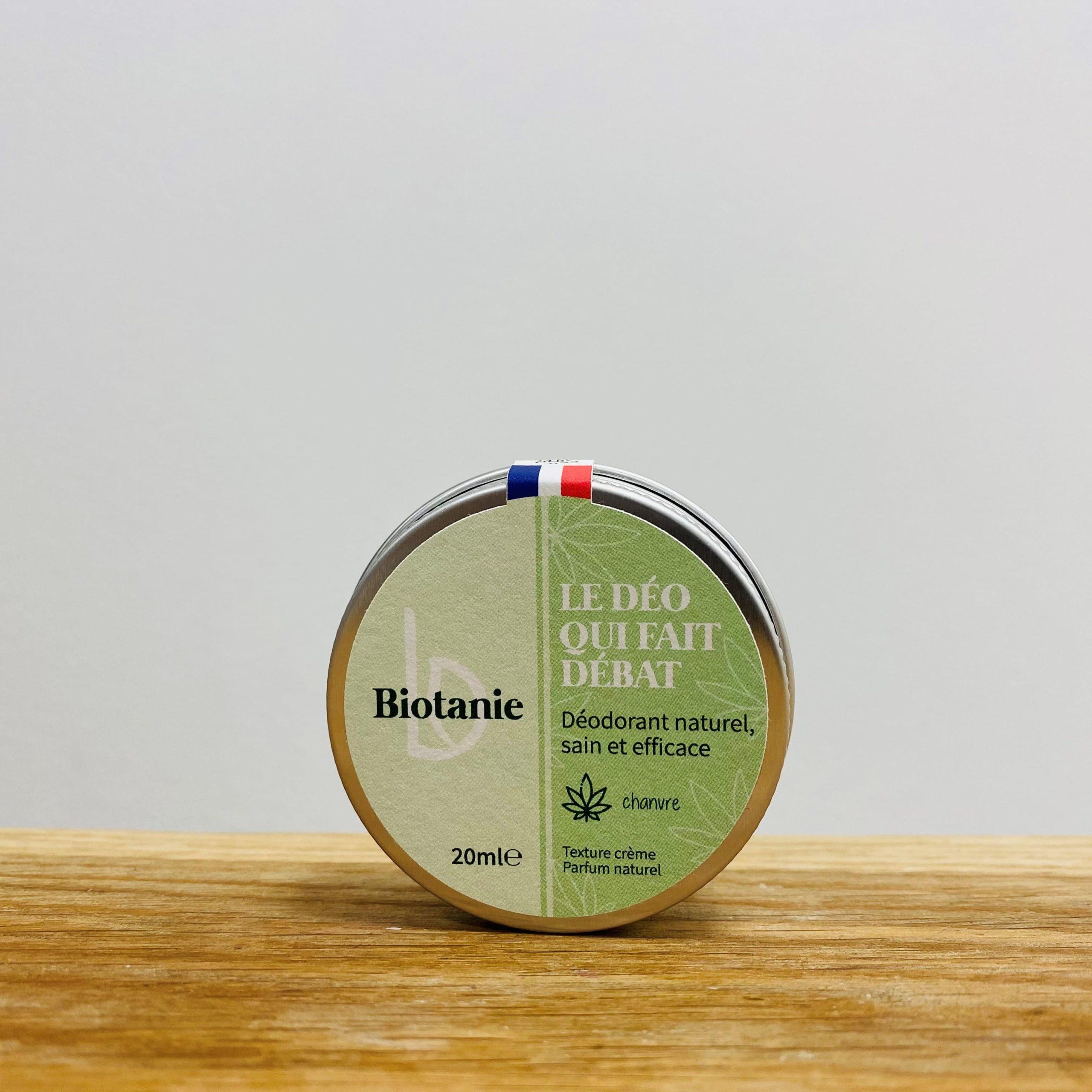Biotanie déodorant crème