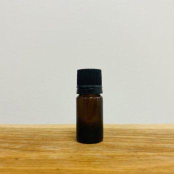 Flacon compte-gouttes verre jaune 5ml