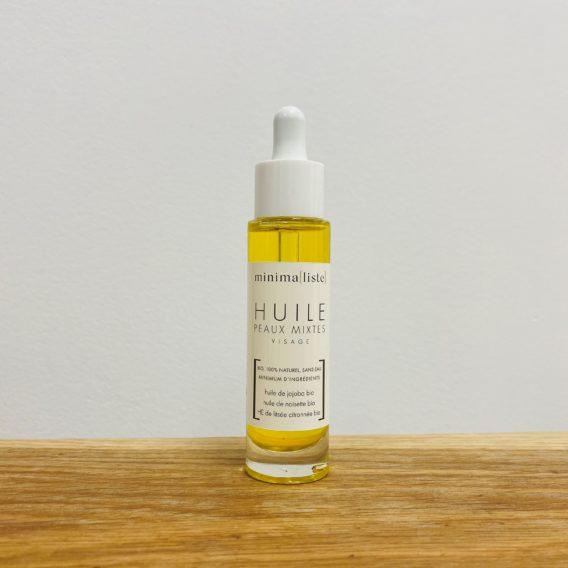 Minimaliste huile peau mixte