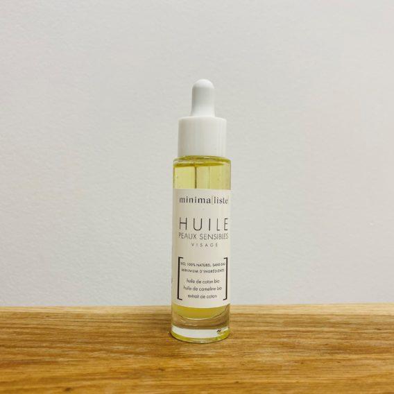 Minimaliste huile peau sensible