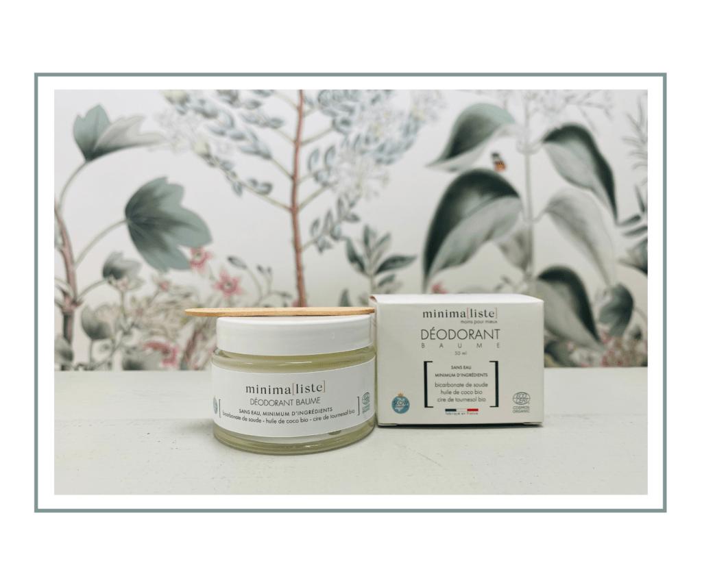 Déodorant baume Minimaliste à Paris